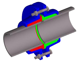 фланцевый метод соединения труб