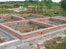 фундамент для кирпичного здания