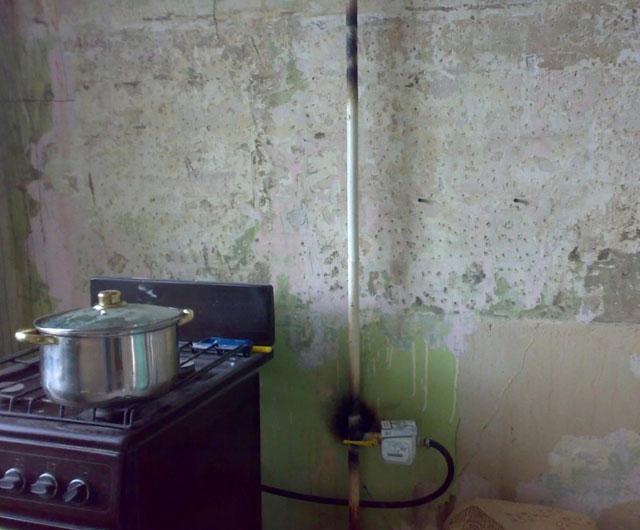 обрезка газовой трубы в квартире