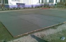 Грамотное устройство бетонной площадки
