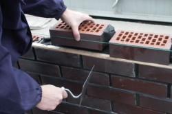 Использование шнура для кладки
