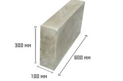 Размеры перегородочного блока
