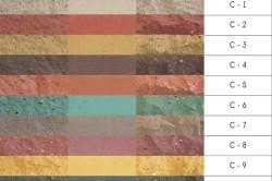 Таблица цветов силикатного кирпича