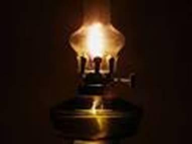 Первая керосиновая лампочка