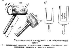 Дополнительные инструменты для кладки кирпича