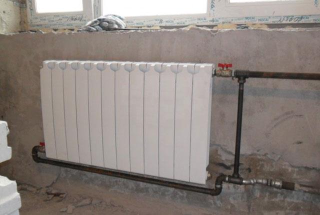 Процесс сварки стальных труб отопления