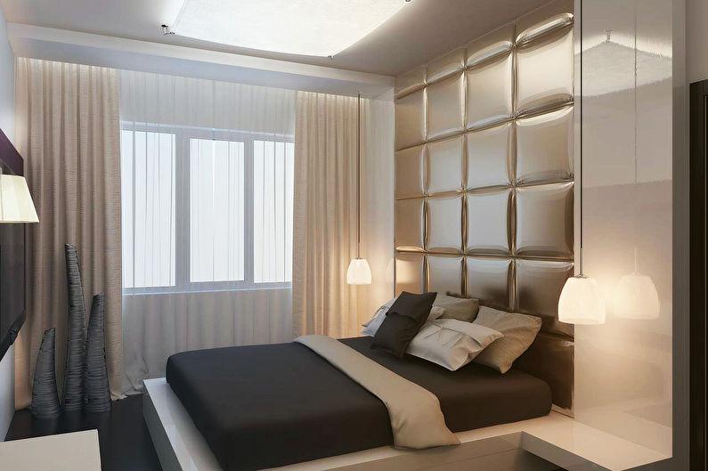 Шторы для спальни в современном стиле