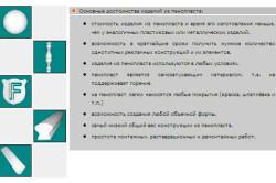 Основные достоинства изделий из пенопласта