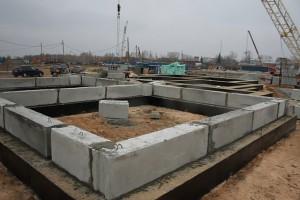Фундамент из бетонных блоков