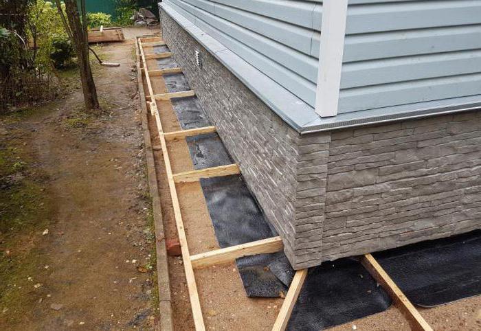 технология изготовления отмостки вокруг дома из бетона