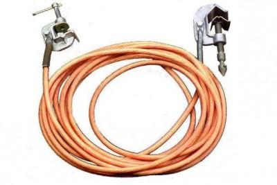 У медного провода устройств заземления не должно быть изоляции
