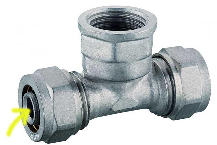Фитинги для металлопластика нещадно зауживают внутренний диаметр трубопроводной системы