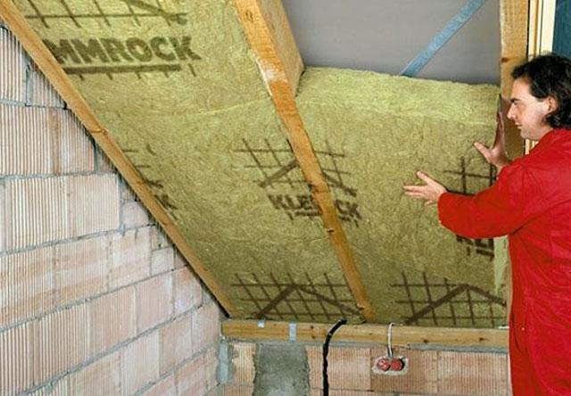 как правильно утеплить крышу минватой