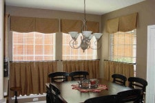 Плотные кафе шторы