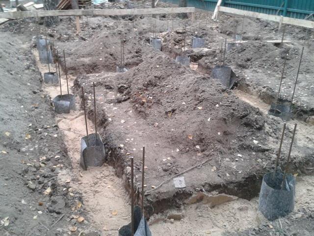 Цена ленточного фундамента под дом Подольский район