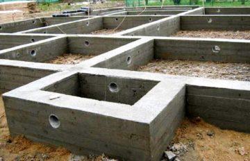 Строительство фундаментов для частного дома Щелковский район