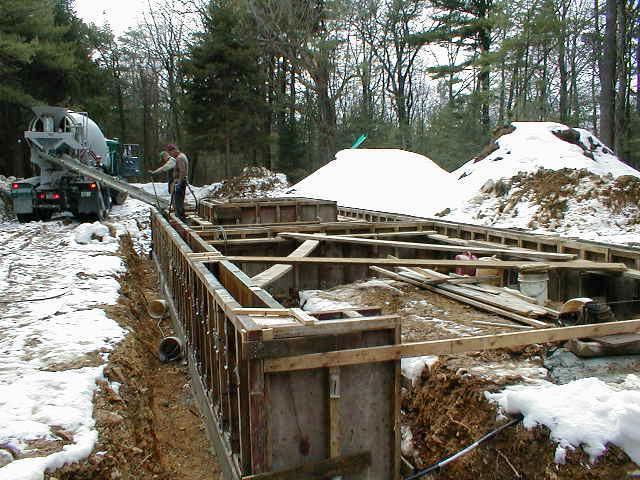 как правильно залить фундамент зимой своими руками правила работ