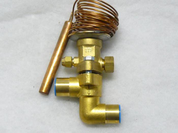 терморегулирующий вентиль принцип работы