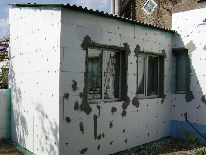 Варианты покраски фасадов бани фото