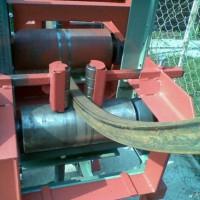 Процесс прокатки трубы