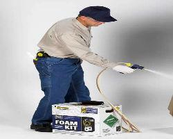 Области применения установок Touch'n Seal Foam Kits (США) для утепления