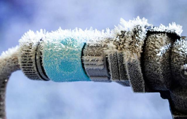 Промерзание труб - Фото 02