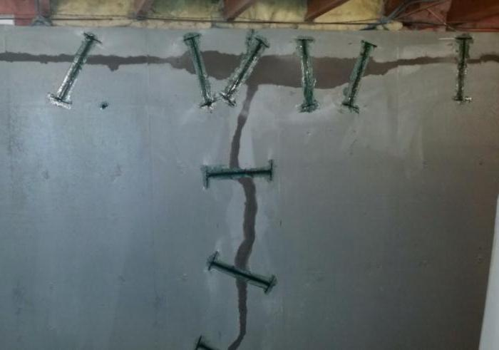 способы ремонта трещин в фундаменте