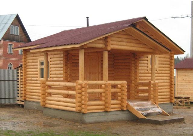 строительство деревянных бань