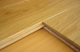 Система шип/паз облегчает сборку покрытия.