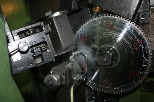 Заточка дисковой пилы