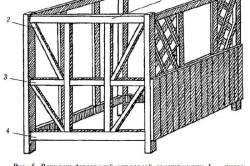 Схема каркаса деревянной беседки.
