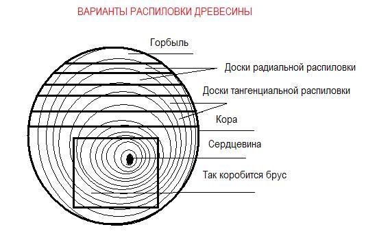 Характеристики сортности пиломатериалов
