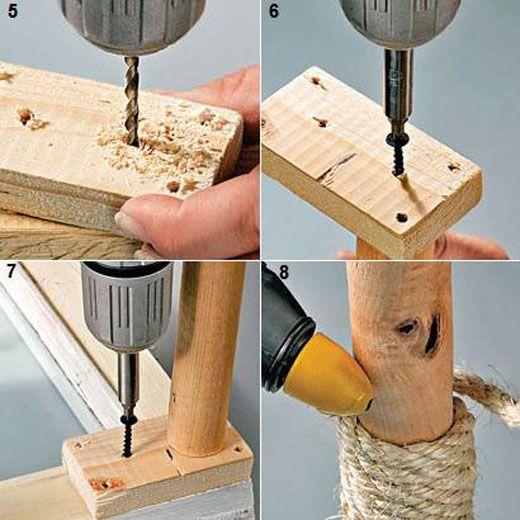 Изготовление журнального столика на ножках