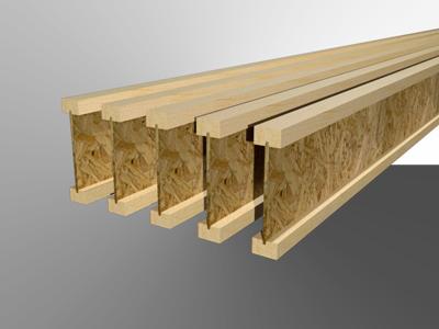 Качественная деревянная двутавровая балка своими руками