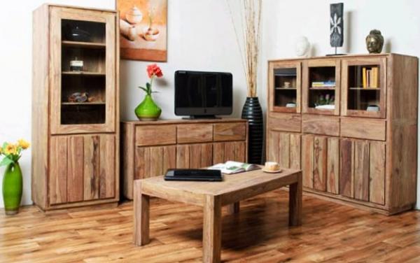 Мебель из натурального массива собственными руками - как создать уникальный шедевр