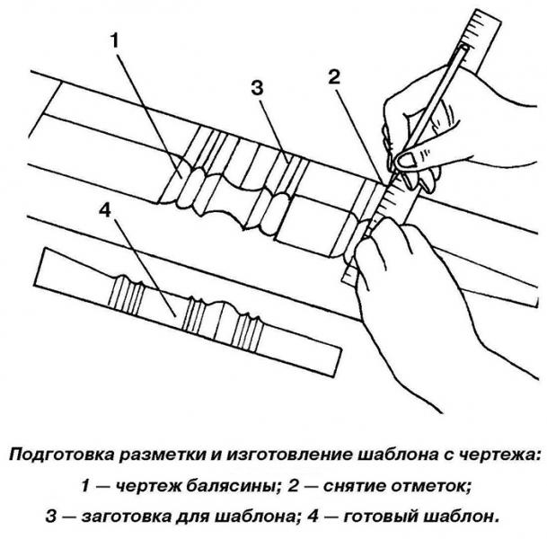 Качественные балясины деревянные плоские своими руками