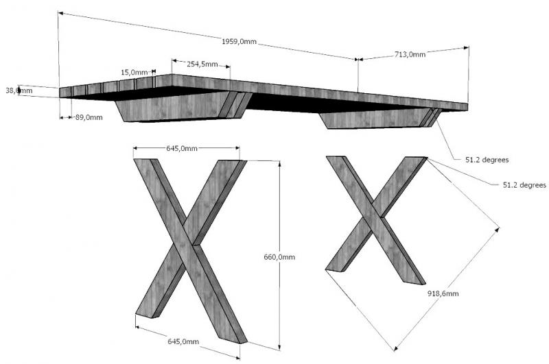 Качественный деревянный стол своими руками