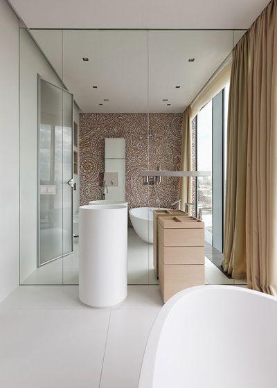 Современный Ванная комната by Елена Потемкина