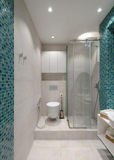 Современный Ванная комната by Ксения Елисеева