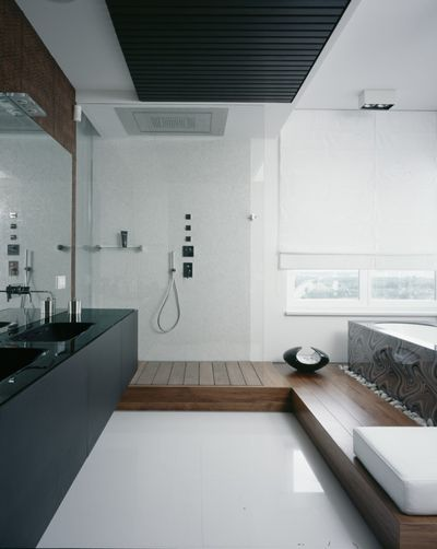 Современный Ванная комната by Аrchitectural Studio UB.DESIGN