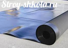 Отличный вариант для гидроизоляции рулонные материалы на битумной основе