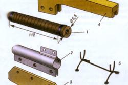 Электрическая принципиальная схема подключения «утюжка» к сети