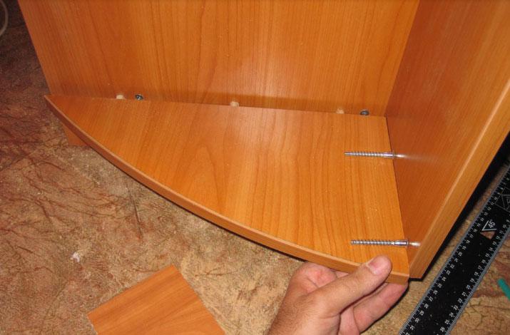 сборка корпуса шкафа-купе