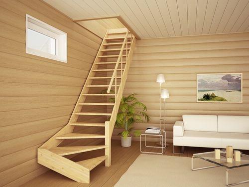 Деревянную лестницу возможно построить своими руками, придерживаясь определенных правил
