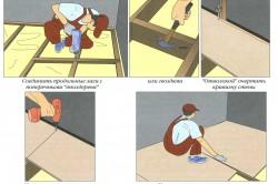Выравнивание бетонного пола с помощью ОСБ