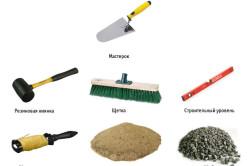 Инструменты для выравнивая пола