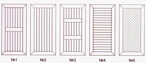 Двери из вагонки своими руками: технология изготовления