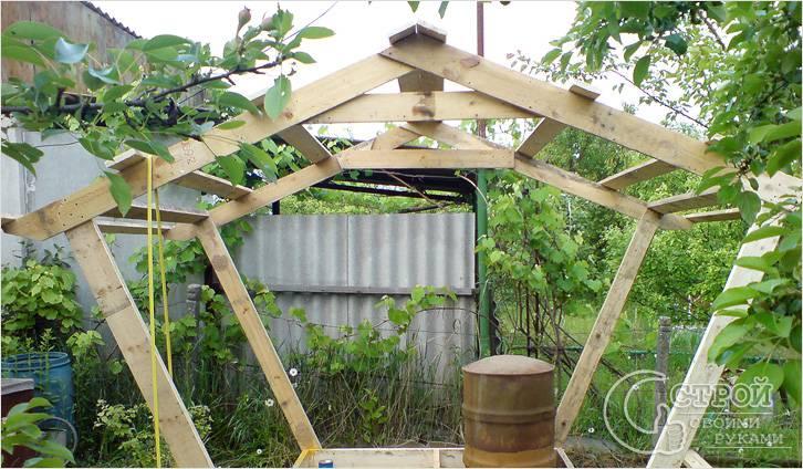 Простейшая двускатная конструкция