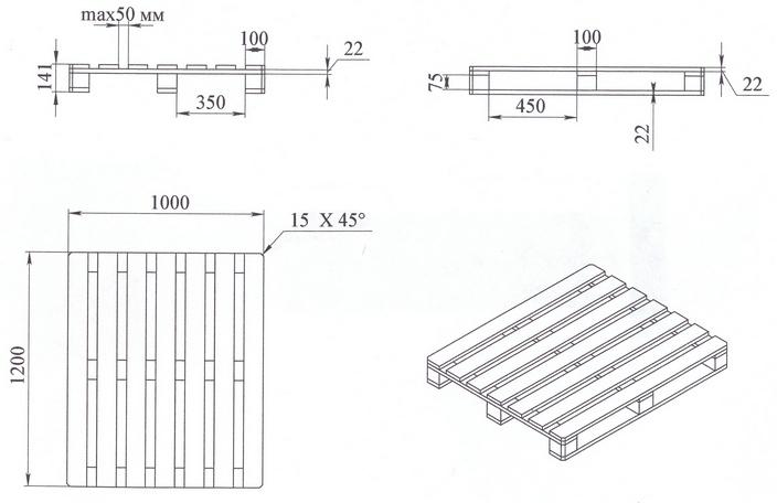 Как сделать поддоны деревянные своими руками?