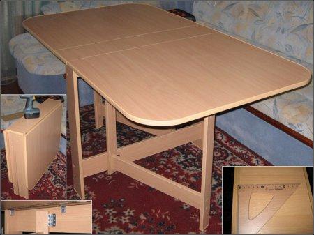 как сделать стол книжку